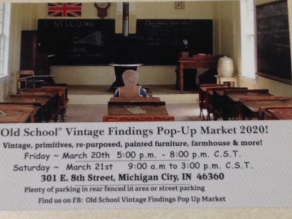 Old School Vintage Findings Pop Up Market