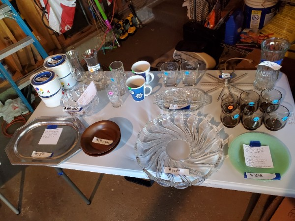 No plans for Labor Day weekend? Come to our garage sale!