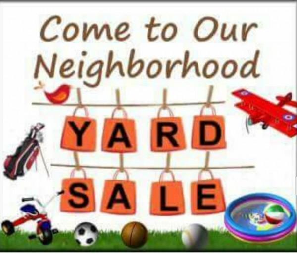 Carson's Pond Community Yard Sale