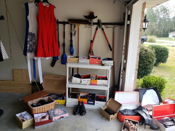 Large Garage/Yard Sale With Many Designer Items