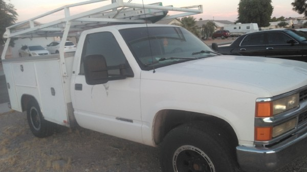 Chevy 3500 utility truck