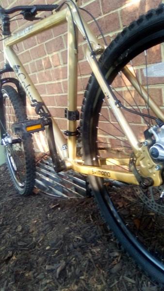 Columbia mountain bike trailhead