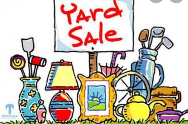 Yard sale in Hesperia