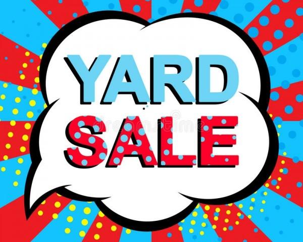 Yard Sale 3/27