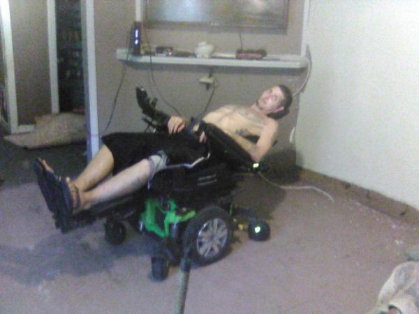 Quantum 250 electronic wheel chair