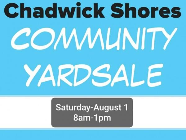 HUGE Community Yard Sale