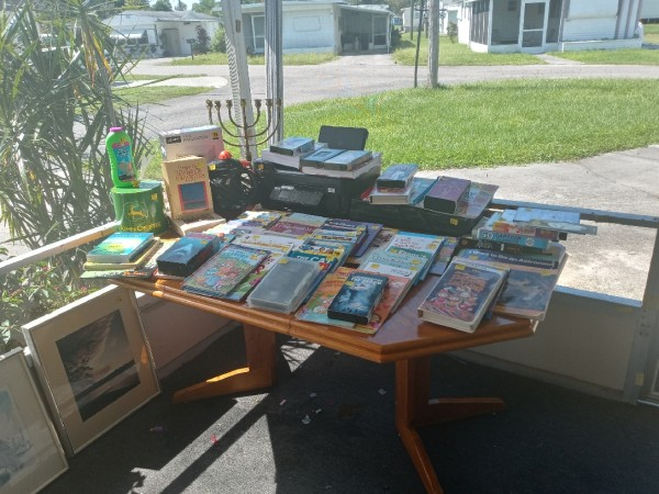 Moving Yard sale