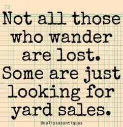 1 Day yard sale Sat 2/29 --- FOLLOW THE SIGNS