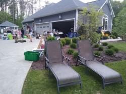 Big yard sale