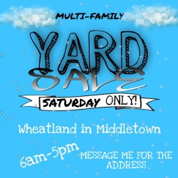 Multi Family Yard Sale 4-17